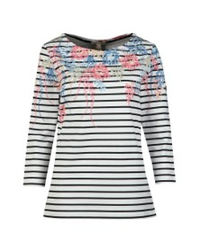 Barbour Lifestyle Womens White Seaglow Top