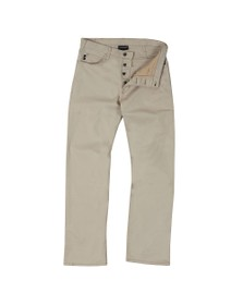Emporio Armani Mens Beige J21 Regular Fit Jean