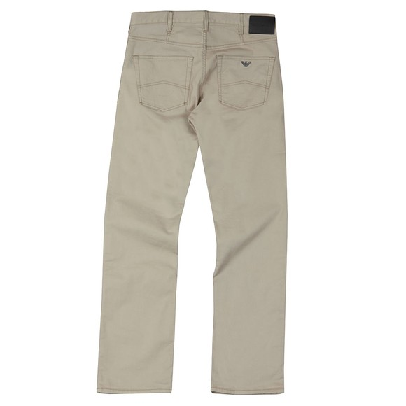 Emporio Armani Mens Beige J21 Regular Fit Jean main image