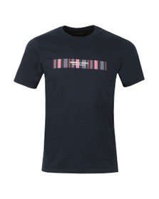Marshall Artist Mens Blue Vert Fiore T Shirt