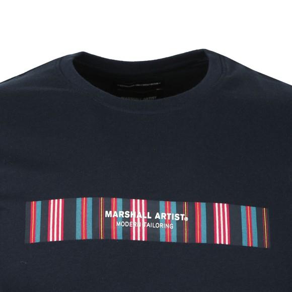 Marshall Artist Mens Blue Vert Fiore T Shirt main image