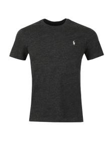 Polo Ralph Lauren Mens Black Custom Slim Fit T-Shirt