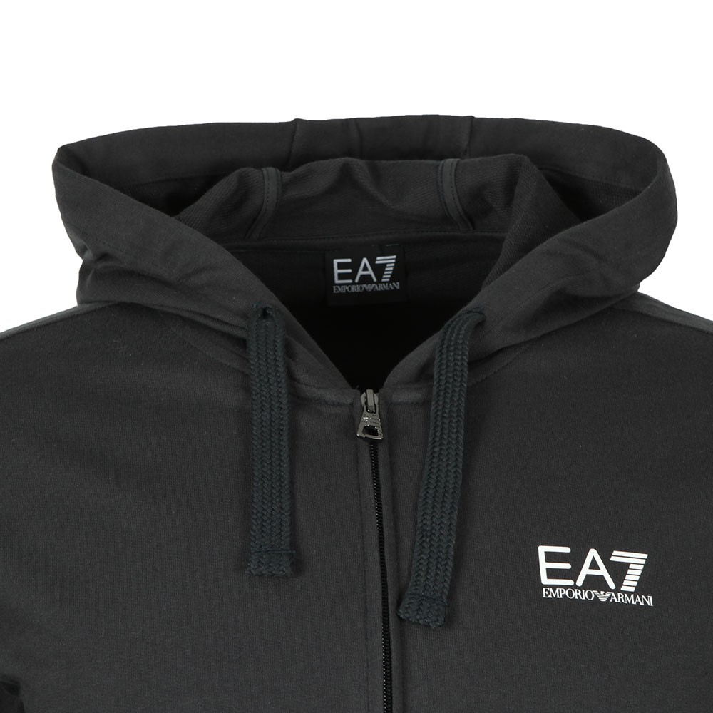 Full Zip Small Rubber Logo Hoody main image