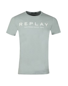 Replay Mens Blue Rue Etienne Marcel Tee