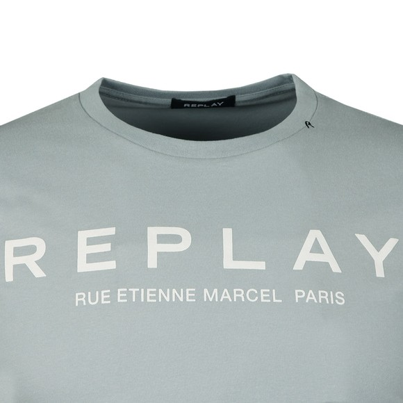 Replay Mens Blue Rue Etienne Marcel Tee main image