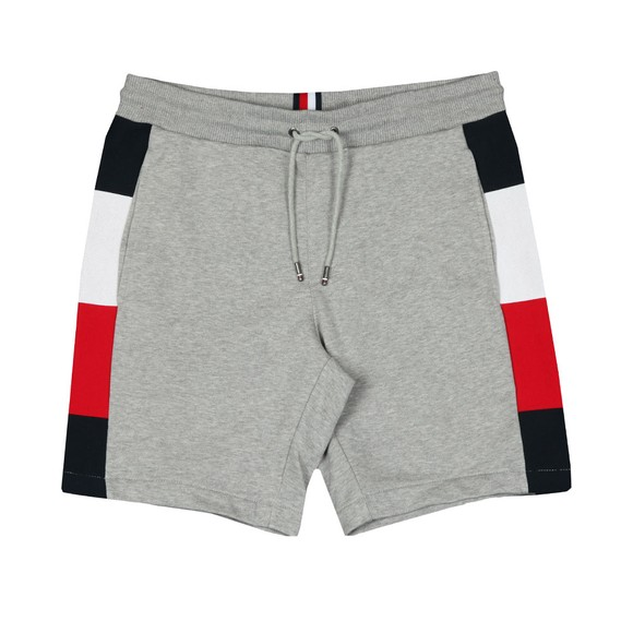 Tommy Hilfiger Mens Grey Flag Rib Insert Short main image