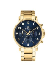 Tommy Hilfiger Mens Gold 1710384 Watch