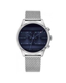 Tommy Hilfiger Mens Silver 1791596 Watch