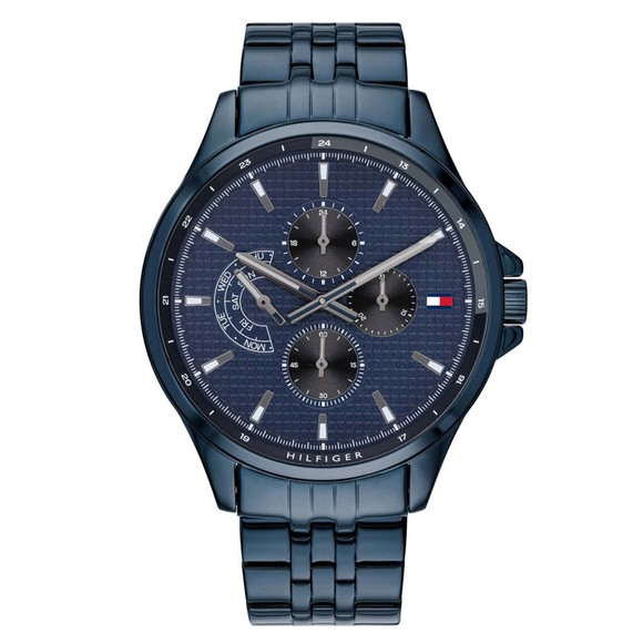 Tommy Hilfiger Mens Blue 1791618 Watch main image