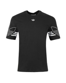 adidas Originals Mens Black Outline Tee