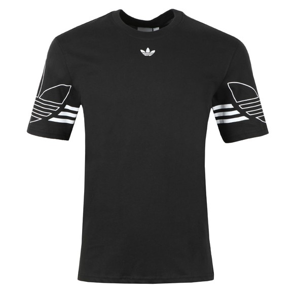adidas Originals Mens Black Outline Tee main image