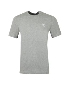 adidas Originals Mens Grey Essential Tee