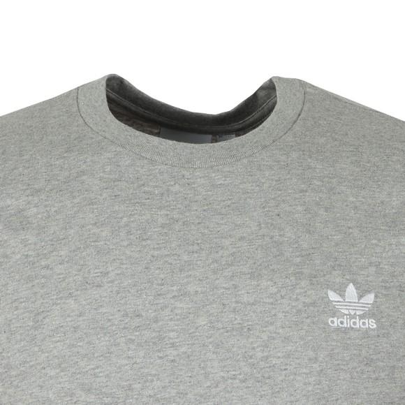 adidas Originals Mens Grey Essential Tee main image