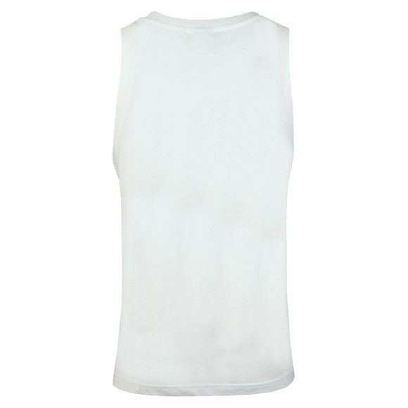 adidas Originals Mens White Trefoil Tank main image