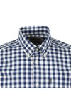 Barbour Lifestyle Mens Blue SS Gingham Shirt