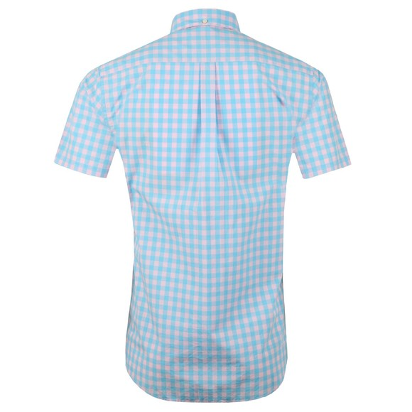 Barbour Lifestyle Mens Pink SS Gingham Shirt main image