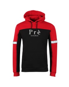Pre London Mens Red Eclipse Hoody