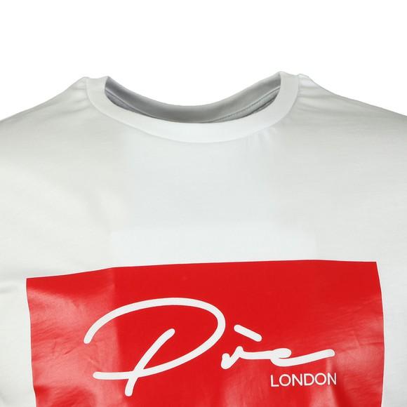 Pre London Mens White Script T Shirt main image