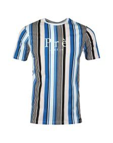 Pre London Mens Multicoloured Sydney Stripe TShirt