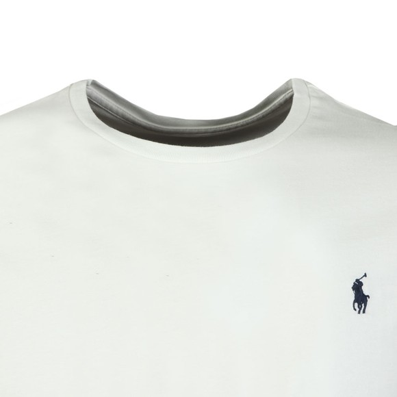 Polo Ralph Lauren Mens White Custom Slim Fit T-Shirt
