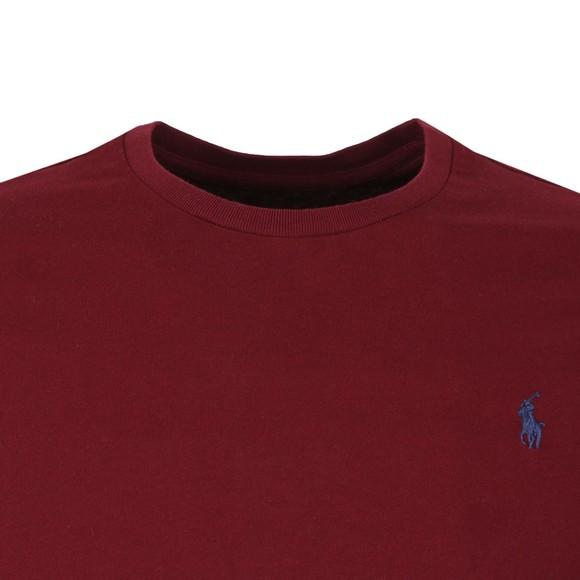 Polo Ralph Lauren Mens Red Custom Slim Fit T-Shirt main image