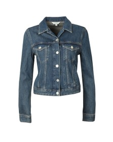 French Connection Womens Blue Micro Western Denim Jacket