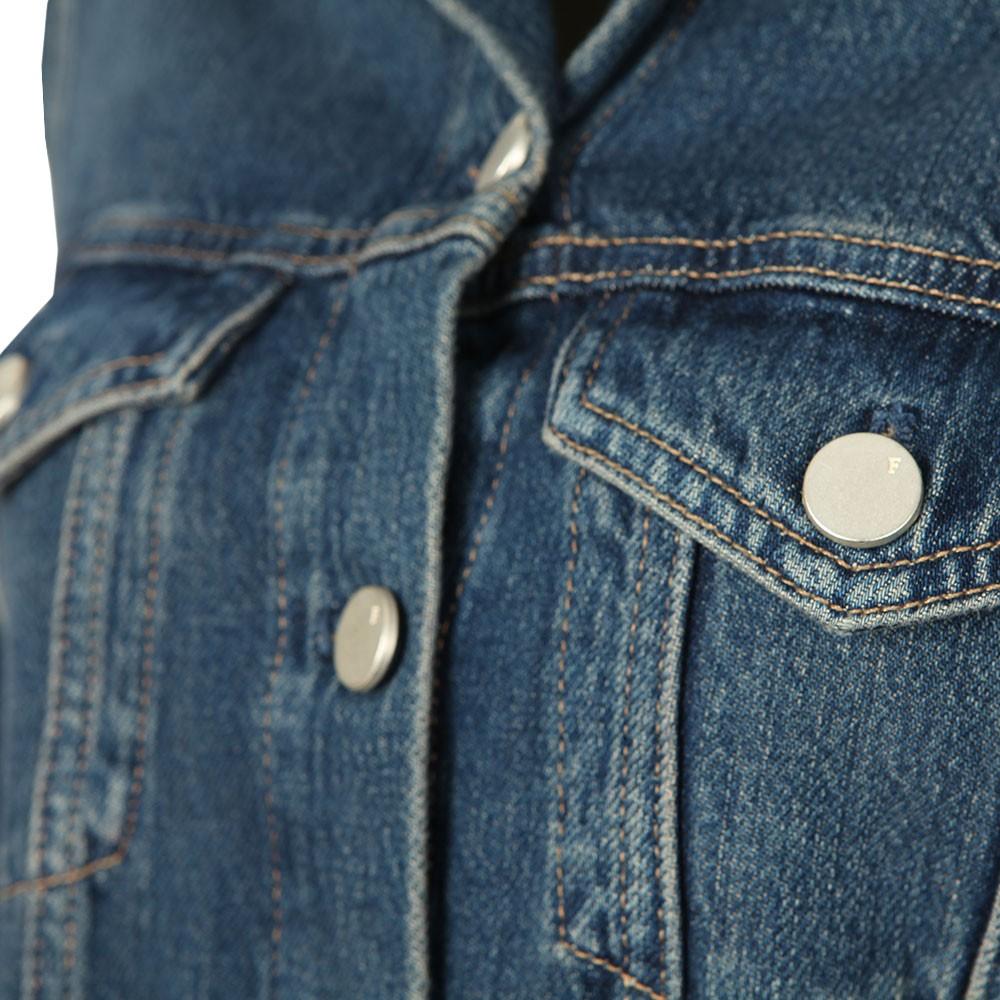Micro Western Denim Jacket main image