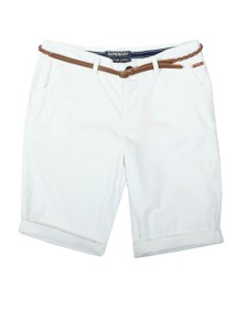 Superdry Womens White Chino City Short