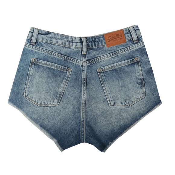 Superdry Womens Blue Eliza Cut Off Short main image