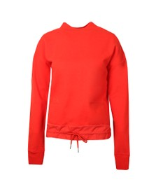 Maison Scotch Womens Red Drawstring Waist Sweater