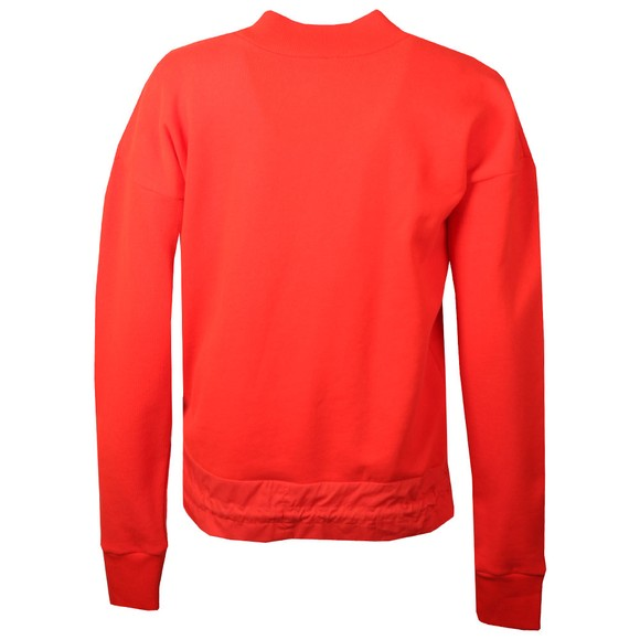 Maison Scotch Womens Red Drawstring Waist Sweater main image