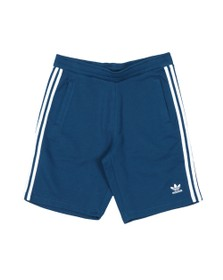 adidas Originals Mens Blue 3 Stripes Sweat Short
