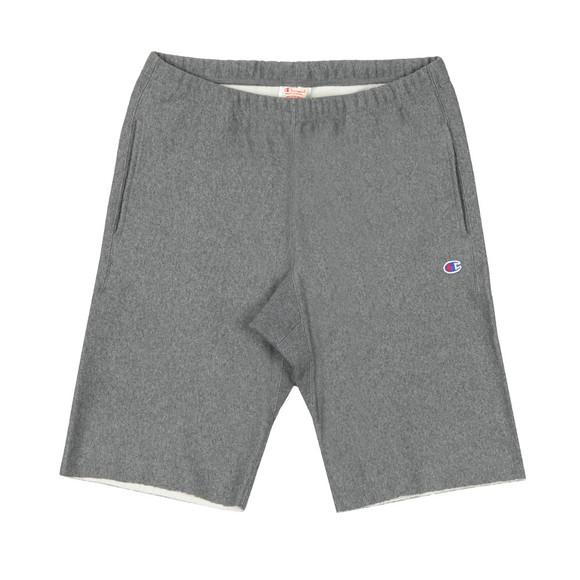 Champion Mens Grey Small Logo Jersey Short main image