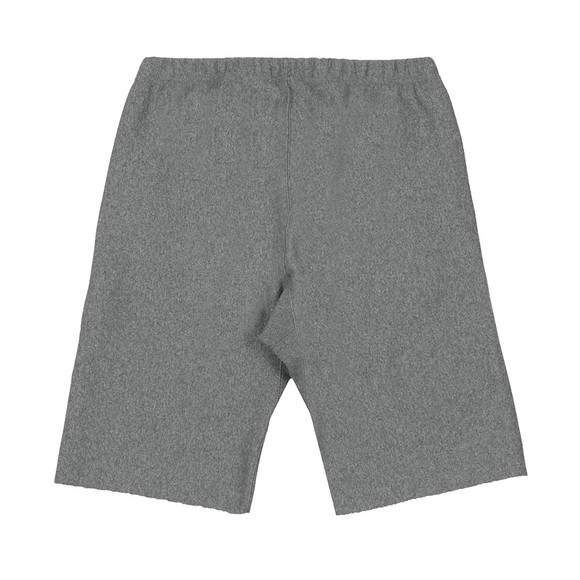 Champion Reverse Weave Mens Grey Small Logo Jersey Short main image