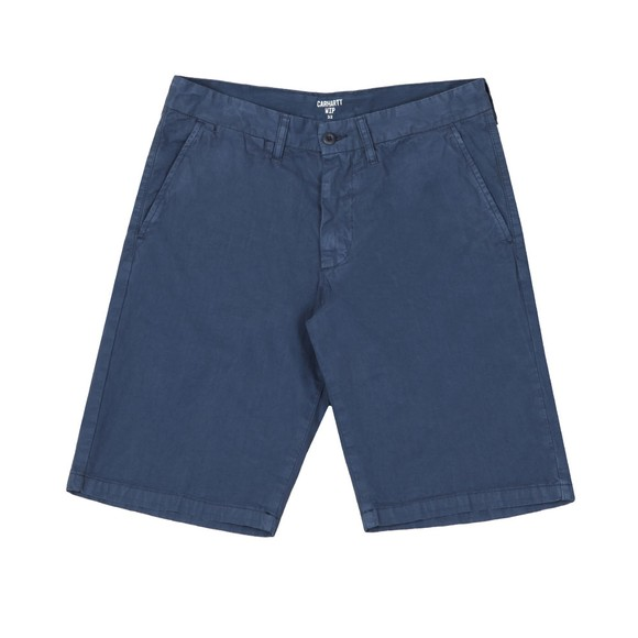 Carhartt WIP Mens Blue Johnson Chino Short main image