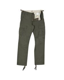 Carhartt WIP Mens Green Cargo Combat Trouser