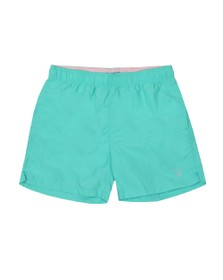 Gant Mens Green Basic Swim Short