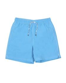 Hackett Mens Blue Solid Volley Swim Short
