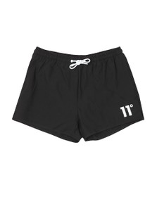 Eleven Degrees Mens Black Core Swim Short