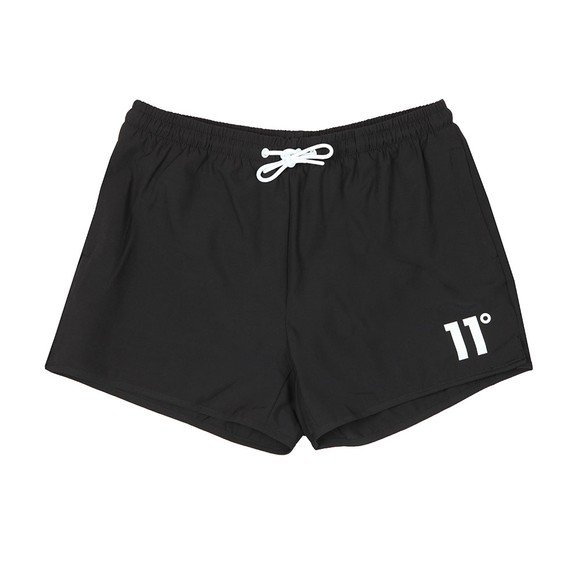 Eleven Degrees Mens Black Core Swim Short main image