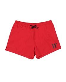 Eleven Degrees Mens Red Core Swim Short