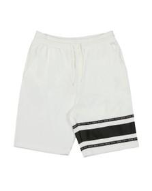 HUGO Mens White Dorts Jersey Short
