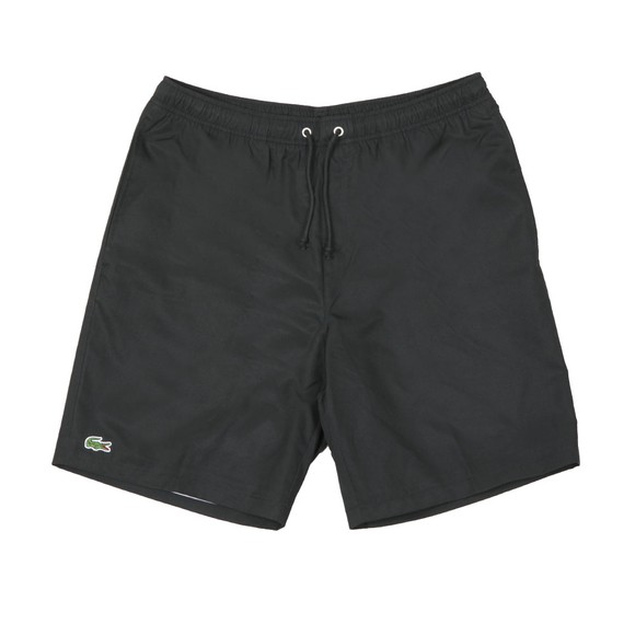 Lacoste Sport Mens Black  GH353T Plain Shorts