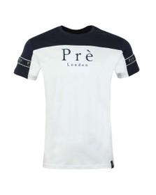 Pre London Mens Blue Eclipse T Shirt