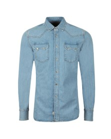 Diesel Mens Blue D-Leo Shirt