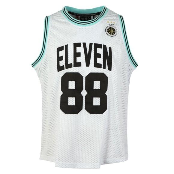 Eleven Degrees Mens White Basketball Vest main image