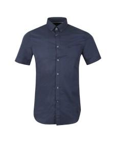 Lacoste Mens Blue S/S CH9612 Shirt