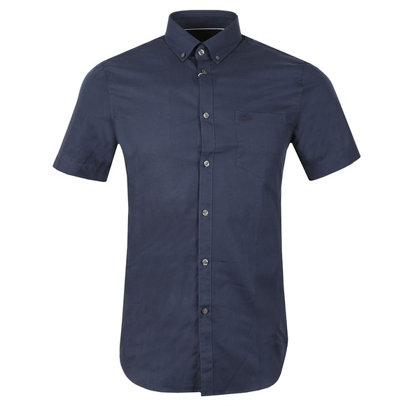 Lacoste Mens Blue S/S CH9612 Shirt main image