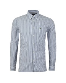 Lacoste Mens Blue L/S CH5636 Stripe Shirt