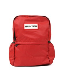Hunter Womens Red Original Nylon Backpack